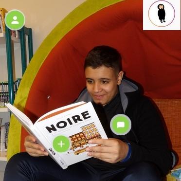 NOIRE : la bd laureate de l'echappée littéraire bfc 2020