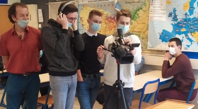 Les lycéens font leur cinéma.
